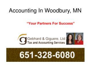 Accounting in Woodbury - Gebhard