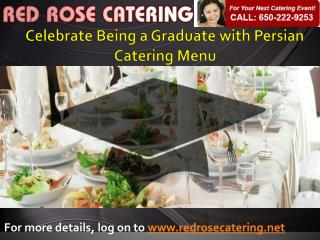 Persian Catering Menus