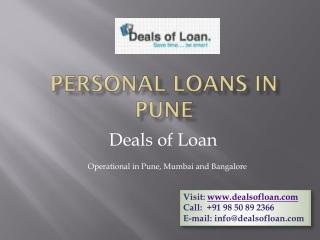 Personal Loan in Pune