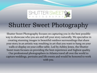 Shutter Sweet Photography
