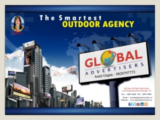 Creative Type of outdoor media Advertising-Global Advertiser