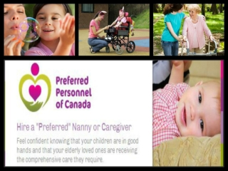 Canadian nanny villa | Preferred Nannies