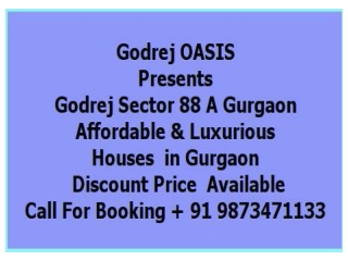 Godrej Upcoming project sector 88A ,Gurgaon @   91 987347113