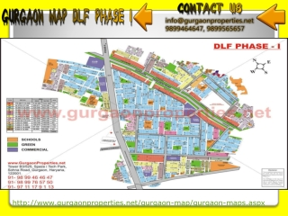 Gurgaon Map | Map of Gurgaon City|Sector|Road
