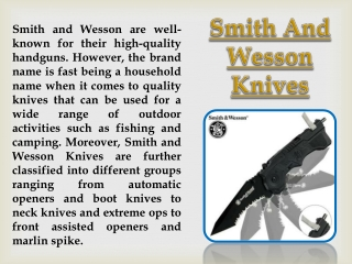 Smith And Wesson Tactical Pen