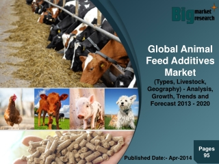 Global Animal Feed Additives Market (Types, Livestock, Geogr