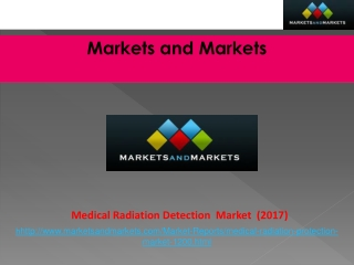 Medical Radiation Detection/Protection Market