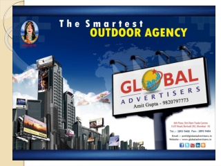 5  Billboards Campaign for Advertising - Global Advertisers