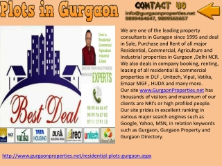 plots in Gurgaon