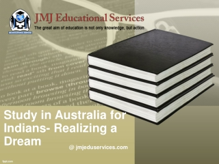 Study in Australia for Indians- Realizing a Dream