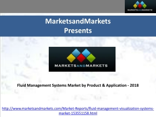 Fluid Management Systems Market 2018