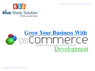 Grow Your Business With OSCommerce development: