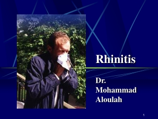 medical management of allergic rhinitis