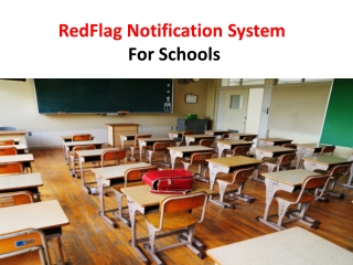 Emergency Notification System For Schools