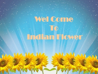 Indian Flower-Manufacturer of artificial flower
