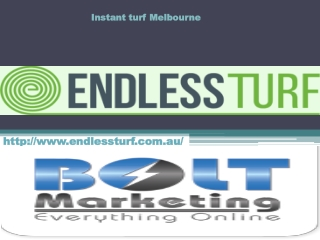 Instant turf Melbourne