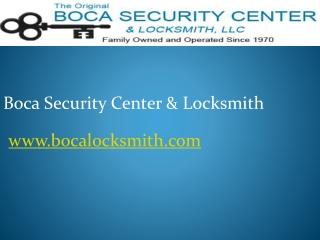 Boca Raton Emergency Locksmith