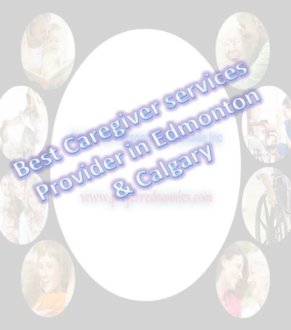 Best Caregivers Services in Canada