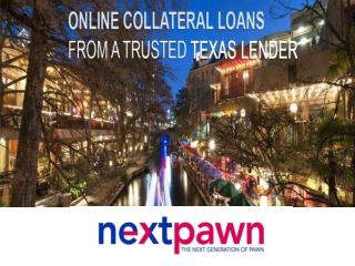 Collateral Loan in Dallas