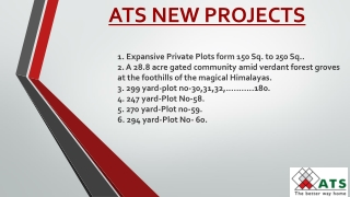 Ats new projects