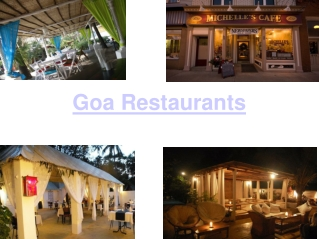 Restaurants in Goa