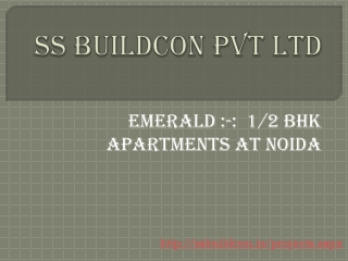 Emerald :-:  1/2 BHK Apartments at Noida