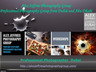 Professional Photographer in Dubai