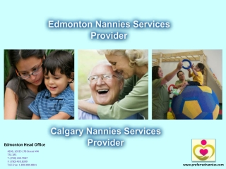 Nanny Services| Preferred Nannies