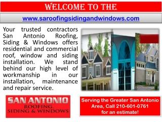 Roofer San Antonio - Remodeling contractor