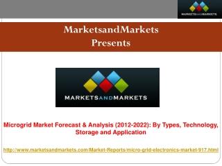 Microgrid Market worth $27 Billion - 2022