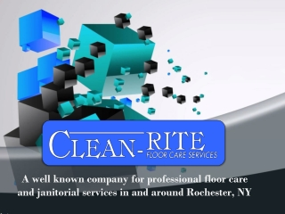 Clean-Rite Floor Care Services
