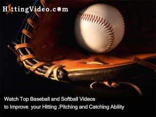 Baseball Softball Instructional Videos, DVD Online