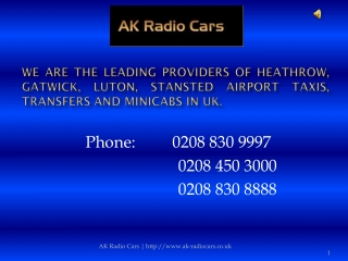Taxi To Luton Airport - Cheap Taxi Service
