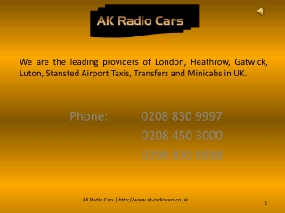 Gatwick Airport Taxi Service - Minicabs