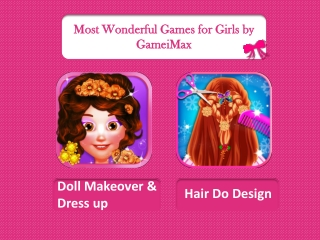Free Android Gamesfor Girls