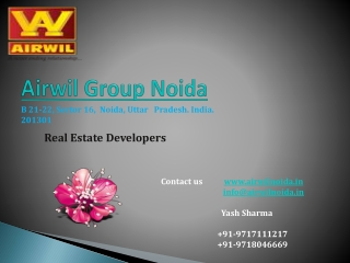 Airwil Group | Airwil Noida | Airwil Projects | Airwil Proje