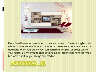 Wardrobes Uk