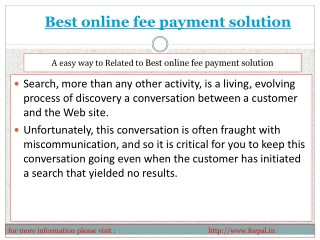 Excellent resource about online payment for school in Delhi