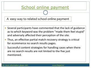 A best recourse of school online payment