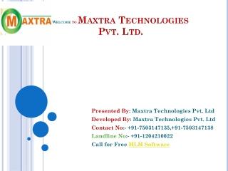 MLM Software   Website Design Noida