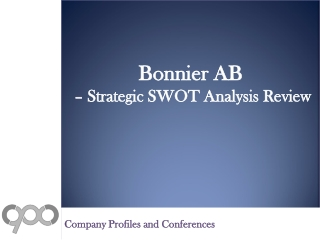 SWOT Analysis Review on Bonnier AB