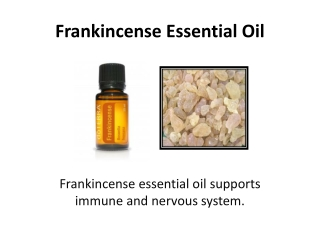 Find Frankincense Essential Oil at doTERRA