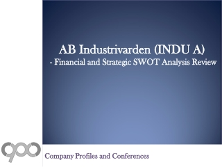 SWOT Analysis Review on AB Industrivarden (INDU A)