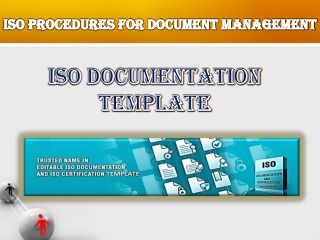 ISO Procedure for Document Control