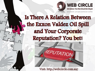 A Relation Between the Exxon Valdez Oil Spill and Corporate