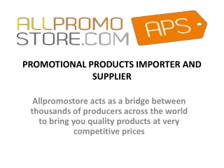Get Exclusive promotional desk items with allpromostore
