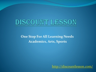 Find a Private Tutor for lessons