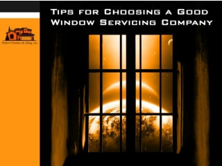 choosing a good company for window installation in Chicago