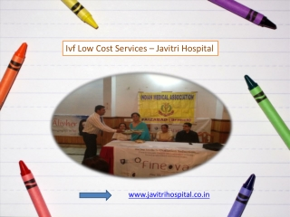 Ivf Low Cost Services in India