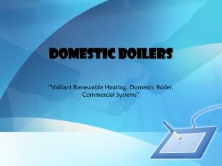 Domestic Boilers